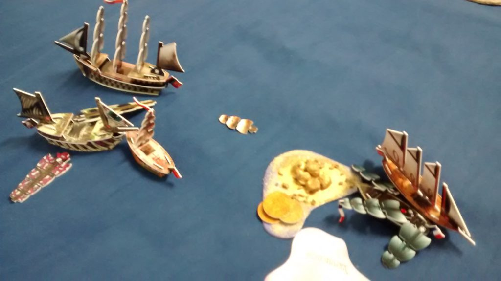 Americans first fleet eliminated
