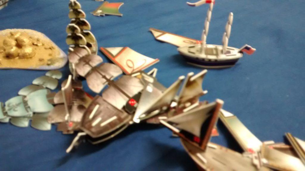 carnage at sea