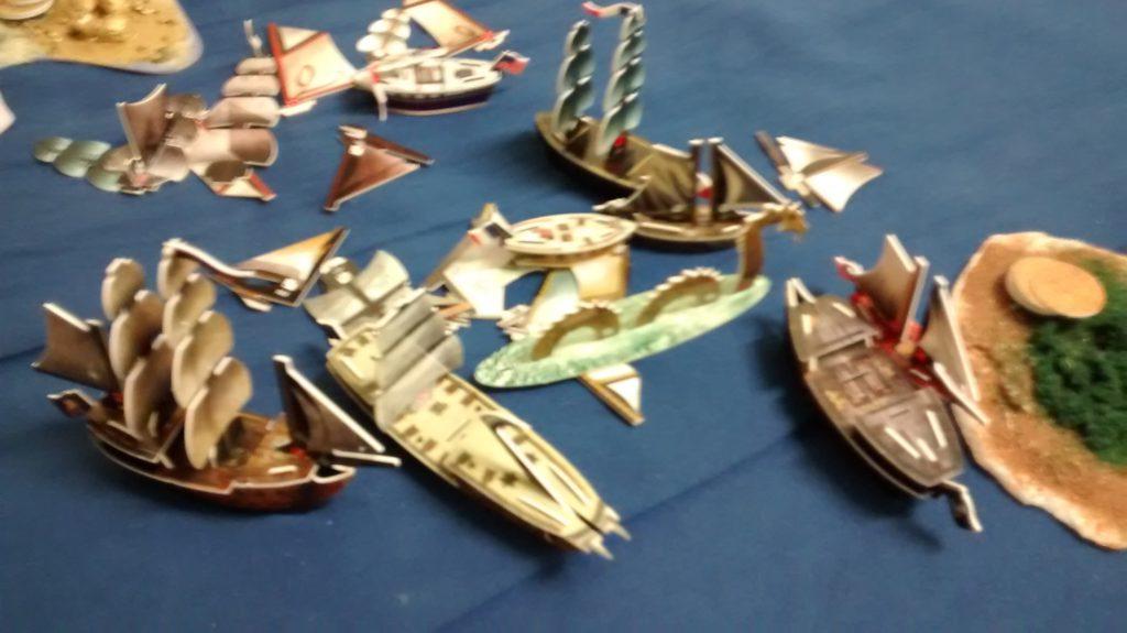 high seas battle!