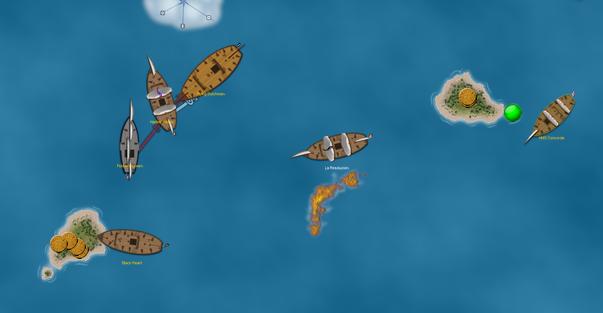 Flying Dutchman dismasted on VASSAL