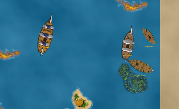 fighting at Ocean's Edge