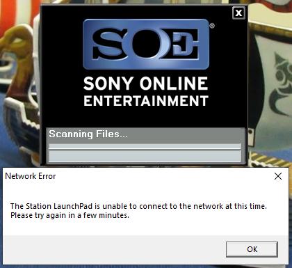 Pirates Constructible Strategy Game Online SOE demo error