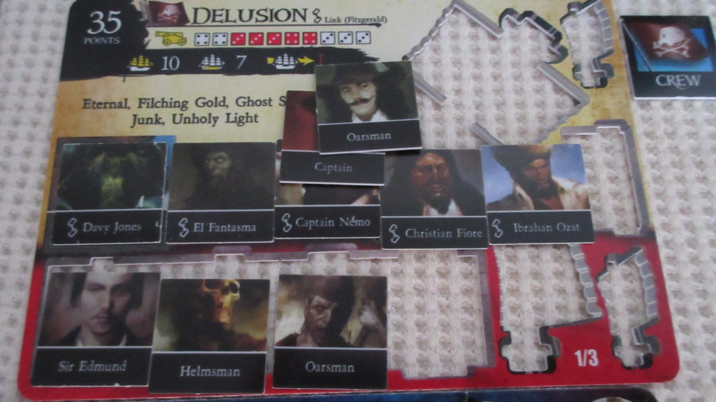Delusion deckplate with crew - Pirates CSG