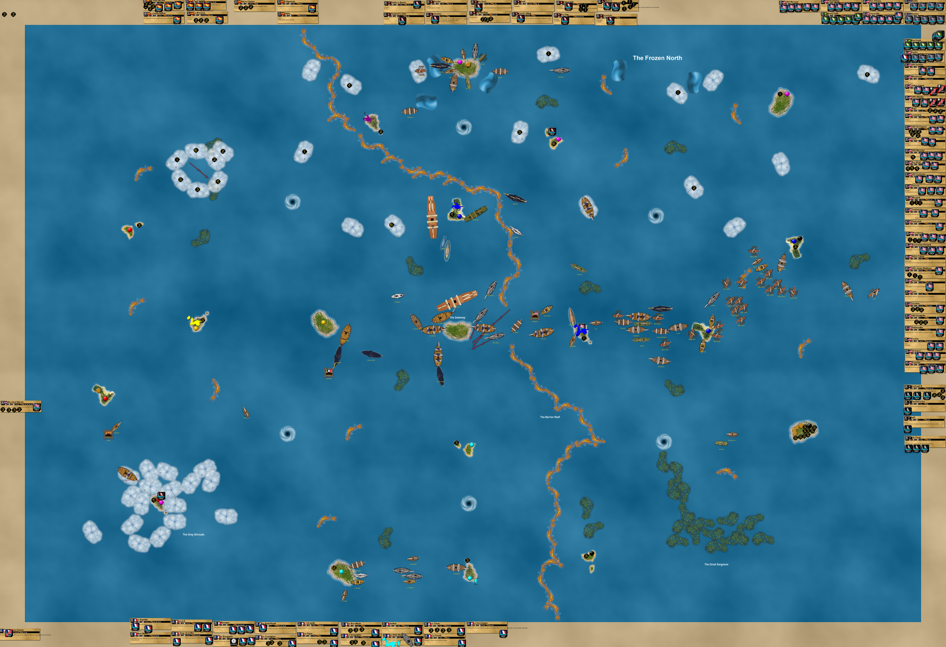 VASSAL Campaign Game 3 - The Turning Point