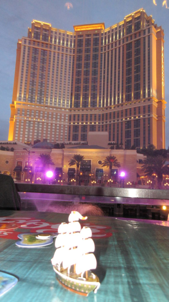 Empress of India and Palazzo in Vegas