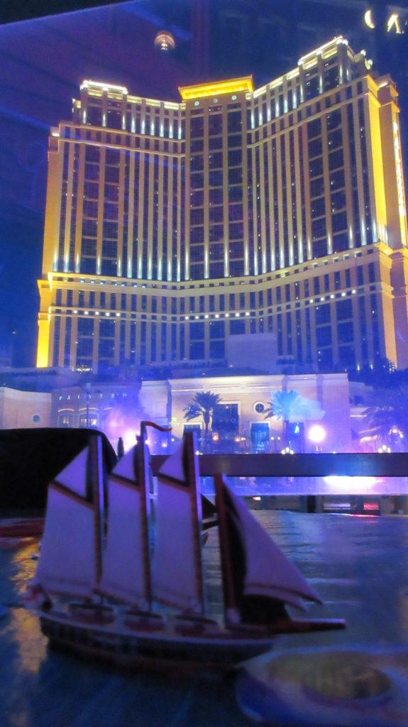 Palazzo Las Vegas from Senor Frog's