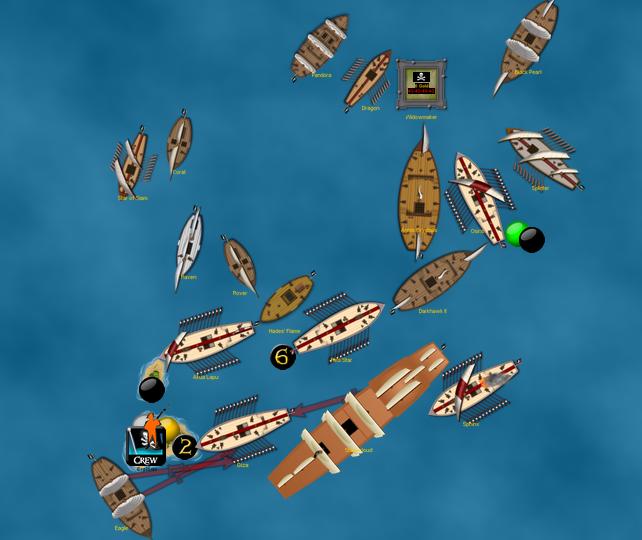Pirate counterattack in CG4!