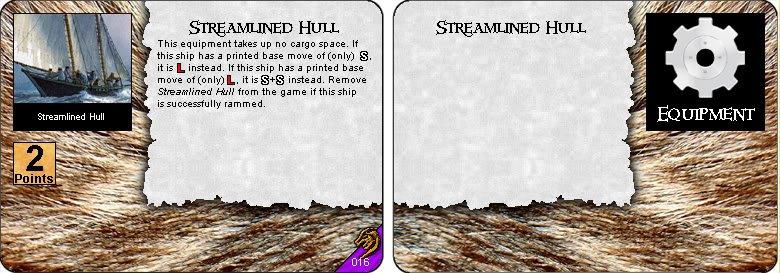 Streamlined Hull