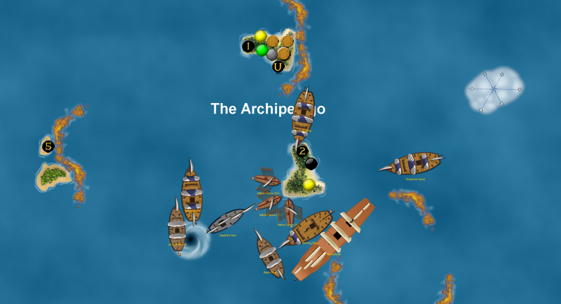 Pirates attack the Spanish at the Archipelago in CG4!
