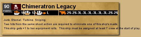 Chimeratron Legacy deckplate