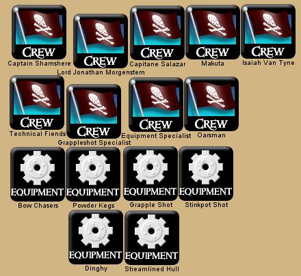 Chimeratron Legacy CG4 crew setup