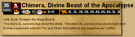Chimera, Divine Beast of the Apocalypse deckplate in VASSAL