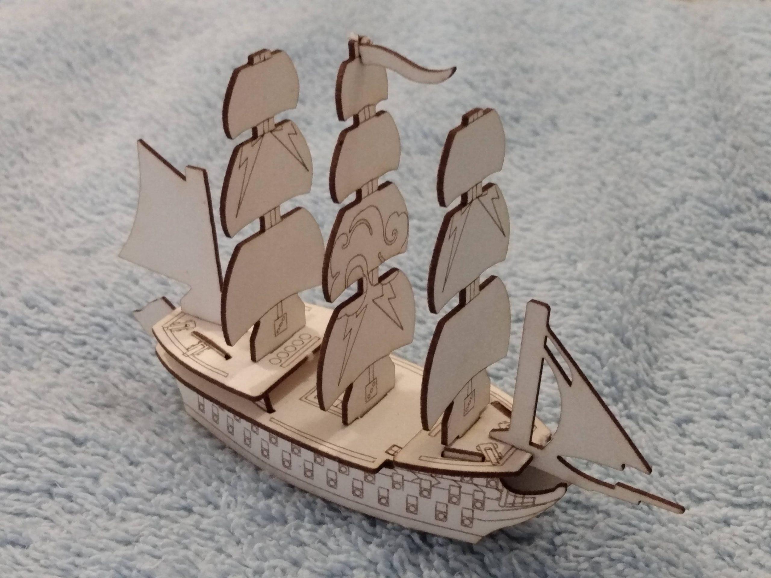 Tempest custom ship
