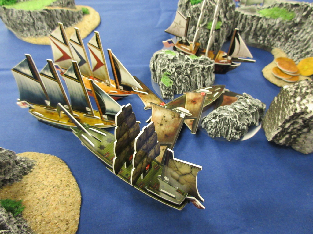 Wizkids Pirates Pestilence ship from Rise of the Fiends