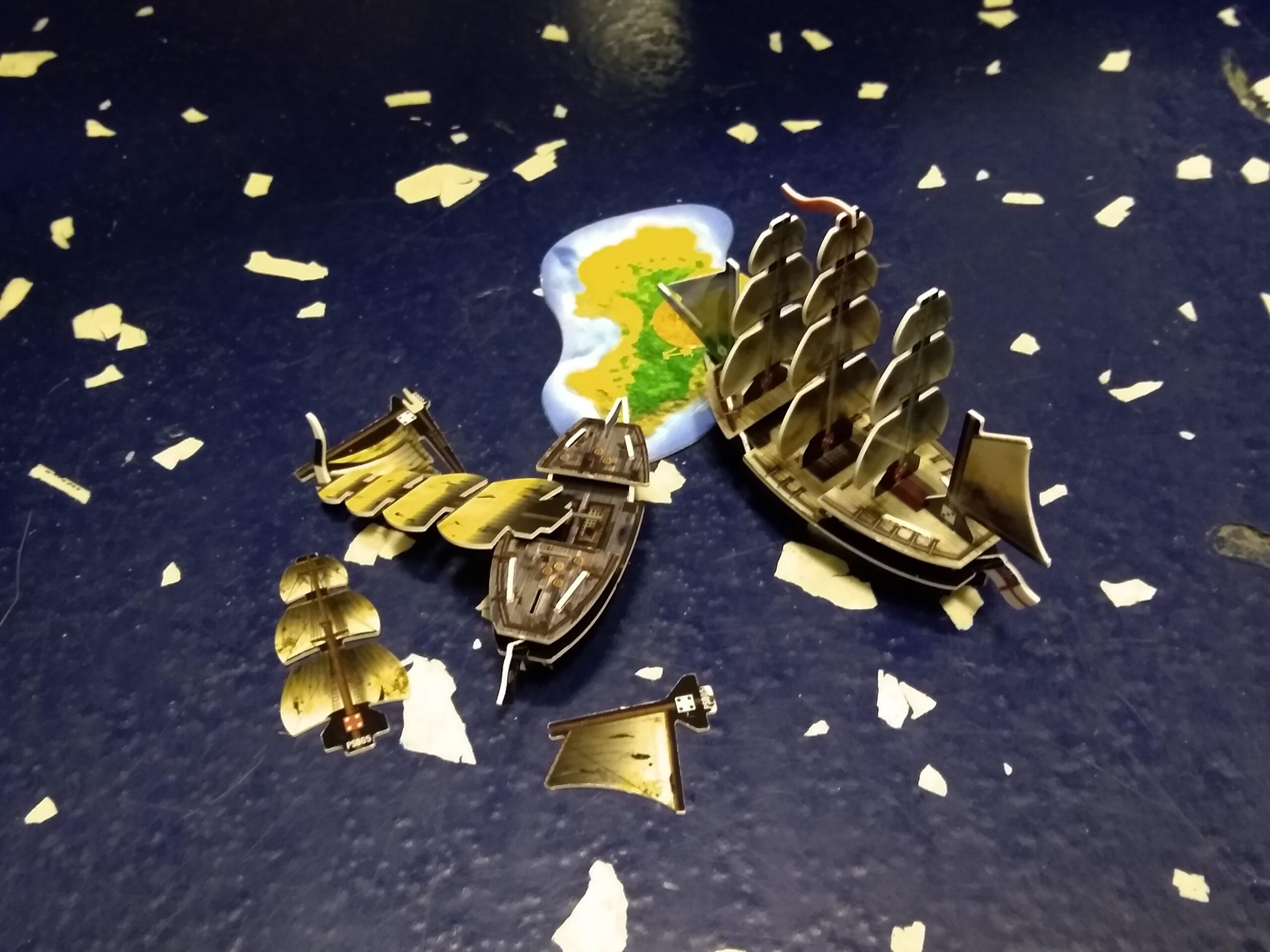 Shadow gets rekt by HMS Goliath