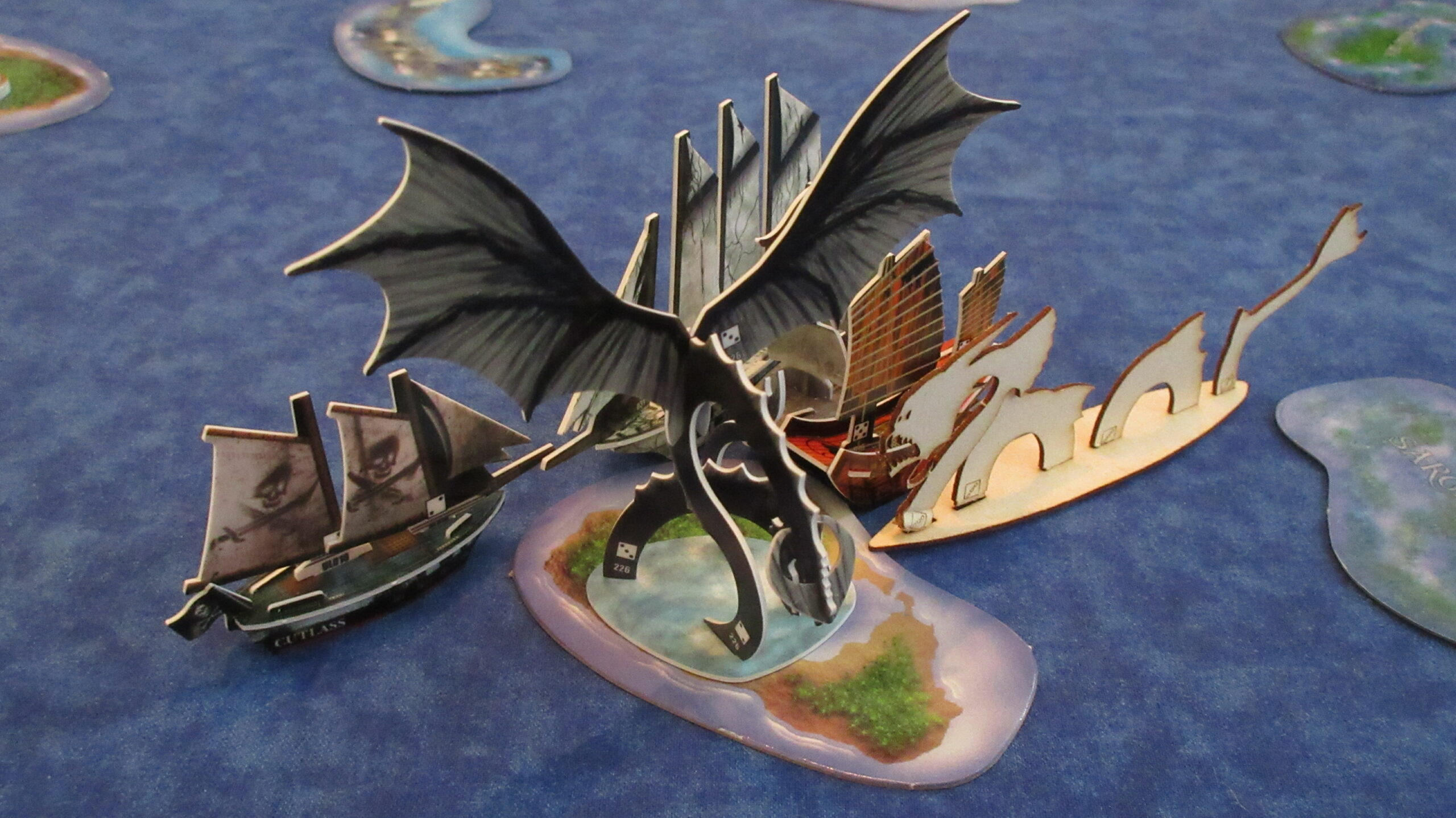 Raptor Maw Pirates of the Cursed Seas Fire and Steel sea dragon