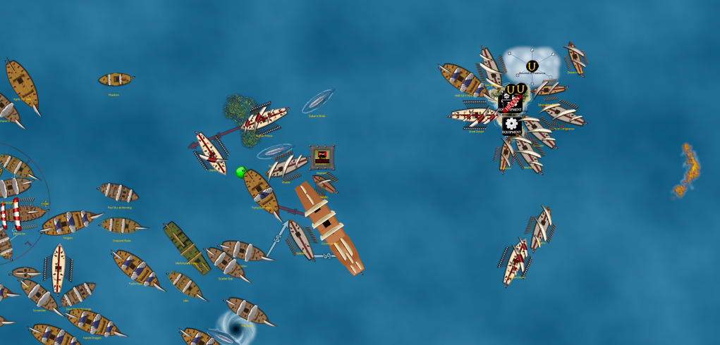 Corsairs launch another attack on the Pirates!