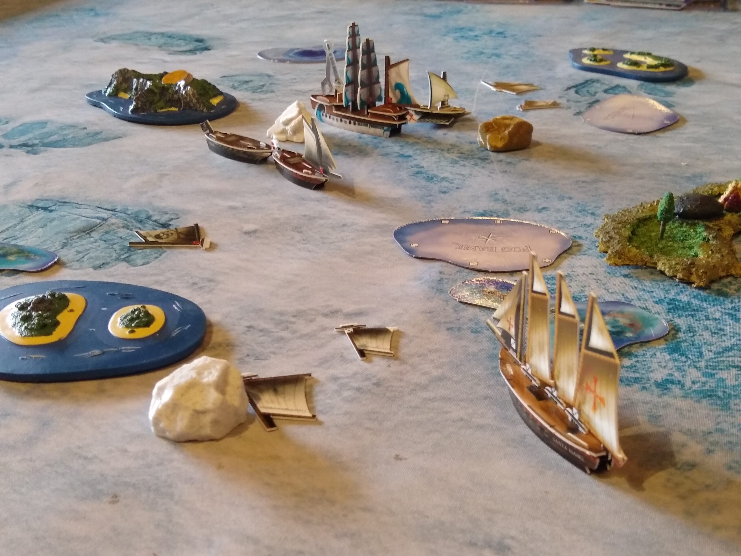 Pirates Constructible Strategy Game on Talk Like a Pirate Day
